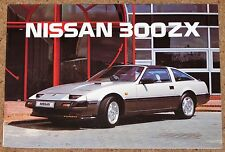 1986 NISSAN 300ZX and 300ZX TURBO UK Sales Brochure - Brand New Old Stock!!