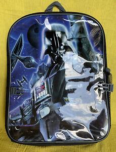 Star Wars DARTH VADER PVC black Blue Back Pack NWT