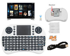 Mini Wireless Keyboard 2.4G with Touchpad for PC PS3 XBOX Android Smart TV White