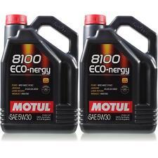 2x5 litros original Motul 102898 8100 eco-nergy 5w30 aceite aceite del motor