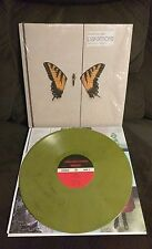 -SPUN ONCE-Paramore Brand New Eyes BLACK & YELLOW SWIRL Colored Vinyl
