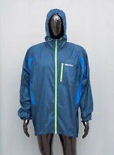 MARMOT Men's Jacket Lightweight Hooded Coat Blue XXL 2XL