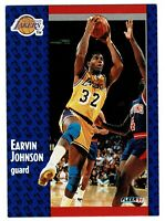1991 Fleer Magic Johnson 100 Excellent condition LA Lakers Basketball card retro