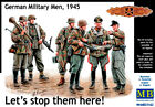 """""""Let's Stop Them Here """" German Military Men, WWII era 1/35 MasterBox 35162"""