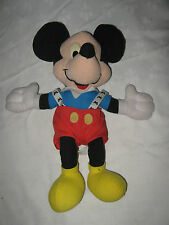 "A Vintage 14"" Walt Disney endorsed  Mickey Mouse Plush Doll by Mattel Arcotoys"