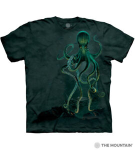 The Mountain 100% Cotton Kid's T-Shirt - Octopus NWT