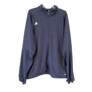 Adidas Mens Soccer Navy Training Full Zip Jacket Mens XXL