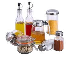 SET: Gewürzgläser Gewürzdosen Pfefferstreuer Salzstreuer Ölflasche Essig-Spender