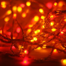 Sunset Lights, Red, Orange, Yellow LED Christmas Fairy String Lights by Qbis