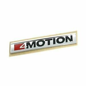 New OEM Genuin VW TRANSPORTER Amarok 2017 4motion trunk lid badge 7E0853675MMGM