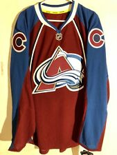 Reebok Authentic NHL Jersey Colorado Avalanche Team Burgundy sz 52