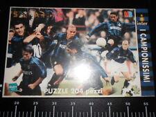 Puzzle 204 pezzi MB HASBRO Pazza * INTER * Ronaldo Baggio Vieri Campionissimi