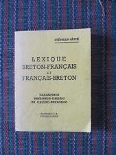 Lexique Breton-français & français-breton Galleg-brezoneg Stephan-Sèité 1978
