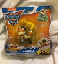 New Nickelodeon Paw Patrol Mighty Pups Super Paws Rubble