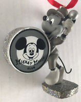 Mickey Mouse Christmas Ornament Mickey Band Leader B&W Disney Store 2011