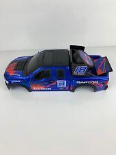 New Bright RC Ford F150 Raptor Crawler Hard Body Shell Blue Orange 15 X 6
