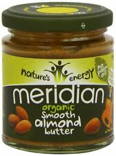 Meridian Organic Smooth Almond Butter 170 g
