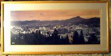 """Erskine Wood """"Eugene Sunset"""" S/N framed Print"""