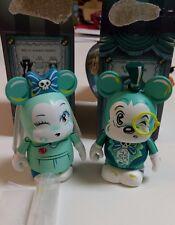 Disney Vinylmation Designer Series Eachez Mindy Haunted Mansion Bride & Groom