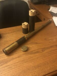 Vintage Maritime Mariner Marine Collapsible Spotting Scope Monocular Made France