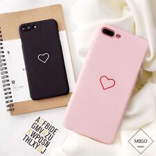 Ultra Slim Matte PC Hard Back Phone Case Skin Cover for iPhone X SE 5 6 7 8 Plus