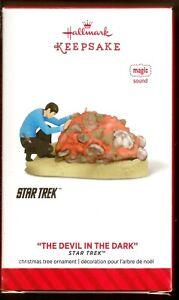 2014 The Devil in The Darkness Star Trek Spock Horta Hallmark Magic New