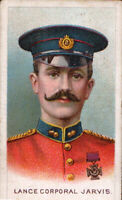 The Great War Victoria Cross Heroes Card Series Tobacco L/Cpl. Jarvis *Free Ship