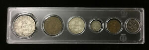 Newfoundland Type Set of Coin in Acrylic Holder