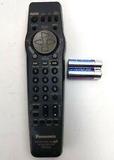 BACKLESS Panasonic Remote Control VSQS1559 Cleaned Tested w/ Batt BK249