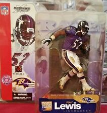 2002 McFarlane Football NFL Series 5 Ray Lewis PURPLE VARIANT #151 Action Figure
