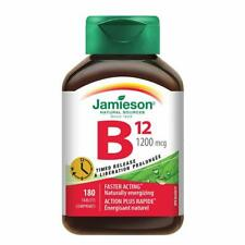Jamieson™ Timed Release B12 1200 mcg -- 180 Tablets from Canada July 2020