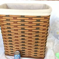 Flax Tan LINER ONLY for Holds It All Hamper NO Basket Longaberger NEW