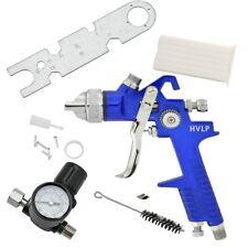 Pro Grade 1.4mm Hvlp Air Spray Gun Tool w/ Gauge Automotive Shop Painting Tools