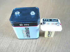 "PP9 BATTERY (US EVEREADY 276) ""NO WIRES"" ADAPTER FOR USING REGULAR 9 VOLT TYPE"