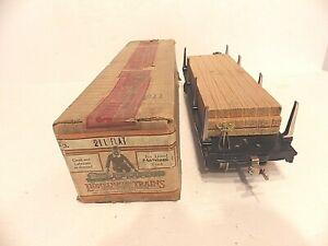 LIONEL PRE WAR -- STANDARD GAUGE #211 CRANE CAR -- WITH THE ORIGINAL BOX!!