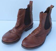 Aldo Womens Soft Brown Leather Ankle Boots Size 8.5M MSRP $120.00
