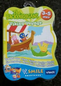 BRAND NEW The Backyardigans Viking Voyage Vsmile VTech Sealed - USA - FREE SHIP!