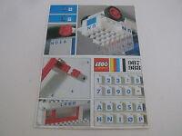 Lego notice set 987 / instruction set 987