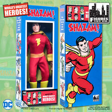 DC Comics Shazam 8 inch Action Figure in Mego Style Retro Box