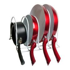 Evelots® Pan Rack Organizer, White