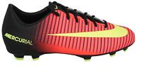 Nike Jr Mercurial Vapor XI FG Soccer Cleats Orange Black Volt $60 Youth US 2.5y