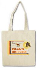 ISLAND HOPPERS HAWAII Hipster Shopping Cotton Bag - Tom TV Selleck Thomas Magnum