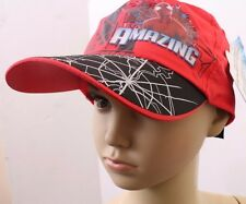 Marvel The Amazing Spider-Man Kids Boys Snap-back Cap Red NWT