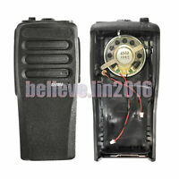 New  Black Replacement case Houisng For Motorola CP200D radio with speaker & Mic