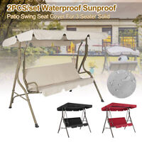 Garden Hammock Swing Seat Canopy Cover 3 Seater Outdoor Patio Replacement