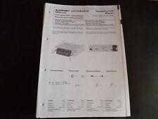 Original Service Manual Blaupunkt Autoradio Tempelhof CR Stereo