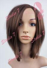 W129 Brown Mid Length Bob Ladies Wig Natural Look - studio7-uk