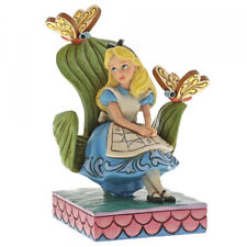 Curiouser And Alice Pays des Merveilles Figurine Jim Shore Enesco 6001272 Disney