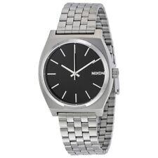 Nixon Time Teller Black Dial Stainless Steel Link Quartz Men's Watch A045-000