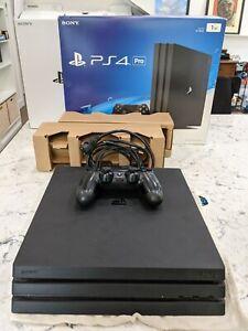 Sony PlayStation 4 Pro 1TB Console - Black w/ 1TB SSD and original box